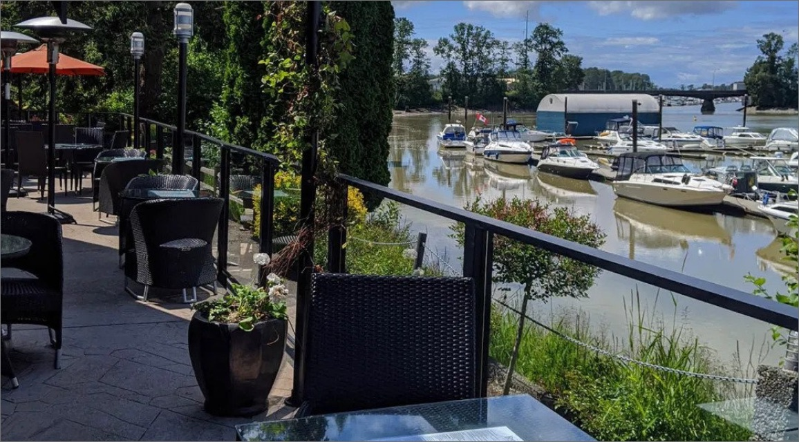 River House balcony view